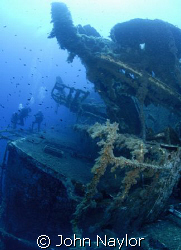 Wreck of Zenobia. by John Naylor 